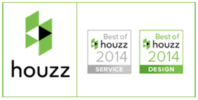 Two Awards from Houzz