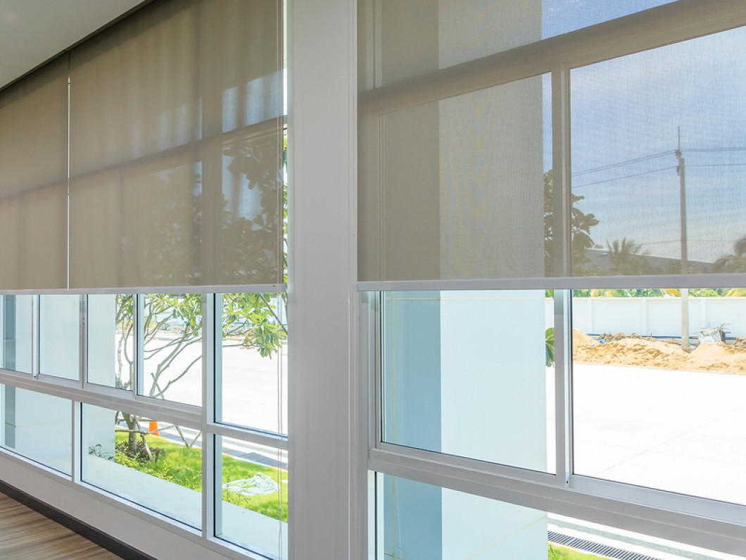Add Blinds or Shades to Your Office Windows